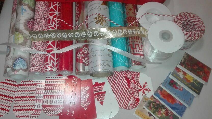 Ajándékcsomagolás karácsonyra