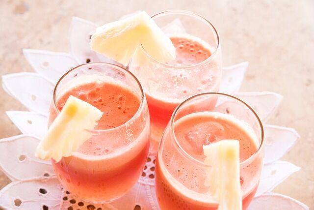 Ananászlé uborka és aloe