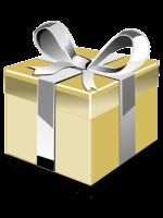 Ajándék csomagolás kép