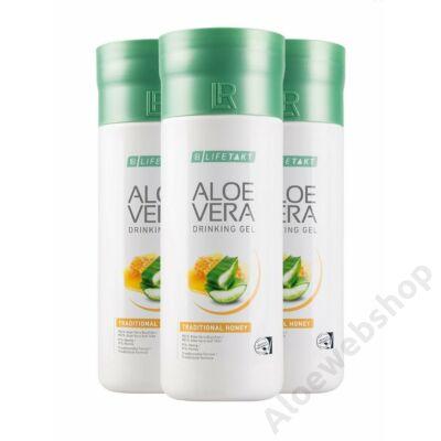 Aloe Vera ital Méz 3 flakon